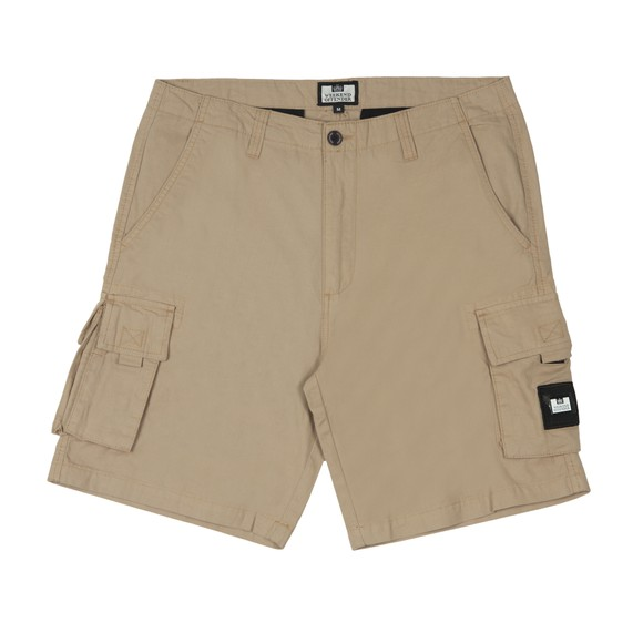Weekend Offender Mens Beige Mascia Short