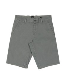 BOSS Mens Grey Casual Schino Slim Short