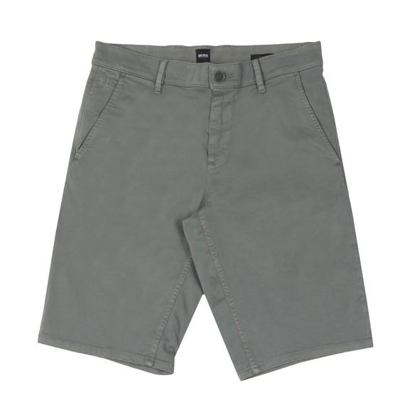 BOSS Mens Grey Casual Schino Slim Short