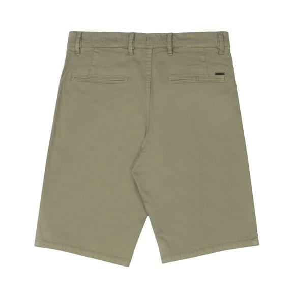 BOSS Mens Green Casual Schino Slim Short