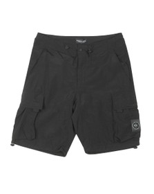 Marshall Artist Mens Black Nylon Cargo Short