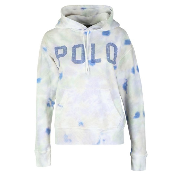 Polo Ralph Lauren Womens Multicoloured Tie Dye Fleece Hoody