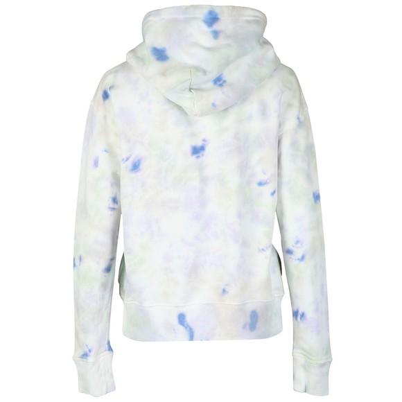 Polo Ralph Lauren Womens Multicoloured Tie Dye Fleece Hoody main image