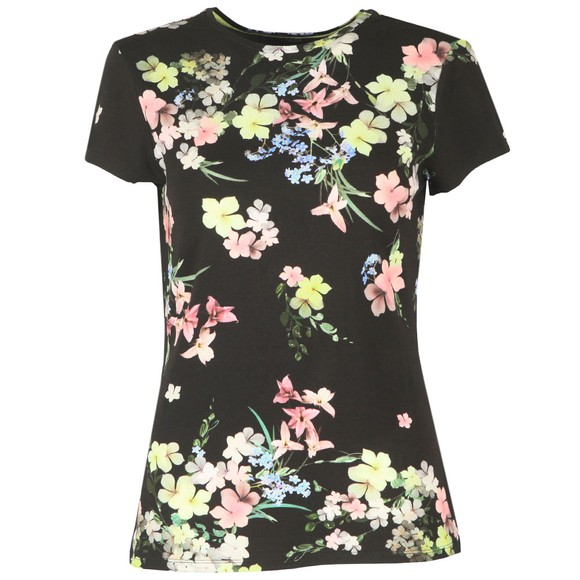 Ted Baker Womens Black Aliey Pergola Printed T-Shirt