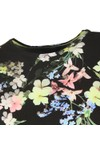 Ted Baker Womens Black Aliey Pergola Printed T-Shirt