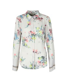 Ted Baker Womens Off-White Aadele Pergola Floral Printed Shirt