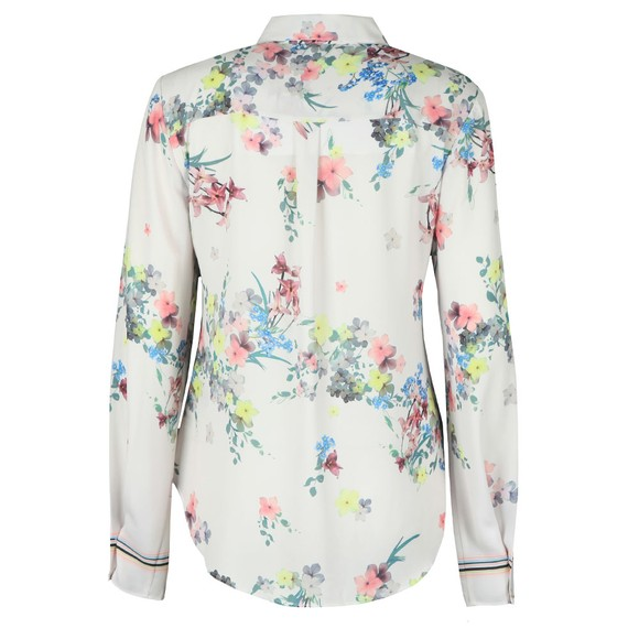 Ted Baker Womens Off-White Aadele Pergola Floral Printed Shirt main image
