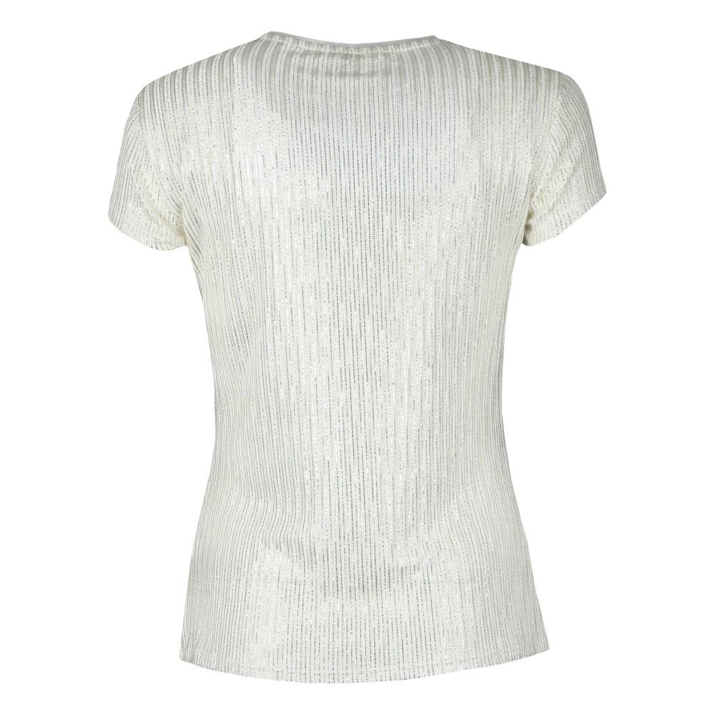 Catrino Metallic Fitted T-Shirt main image