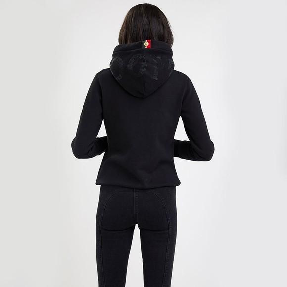 Holland Cooper Womens Black Essential Hoody main image
