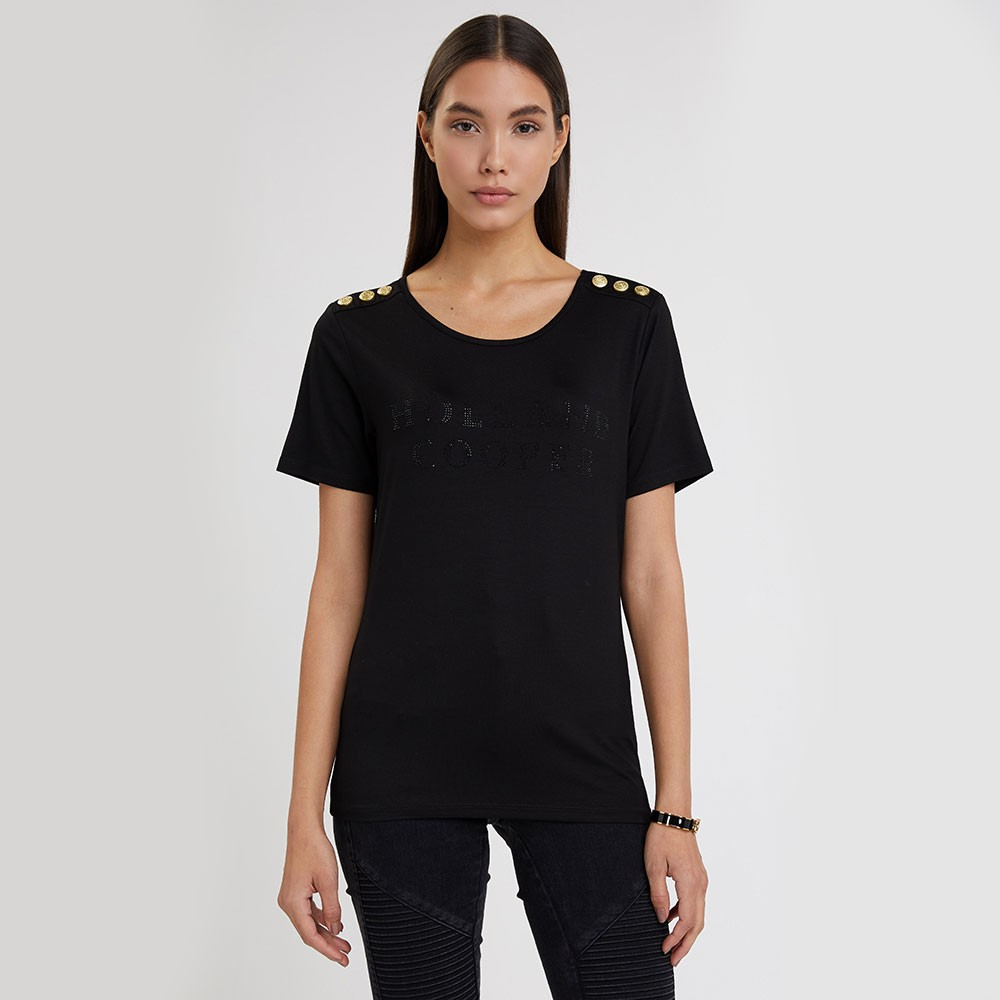 Essential Crystal Crew Neck T Shirt main image