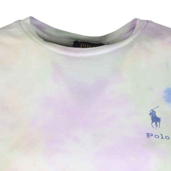 Polo Ralph Lauren Womens Purple Painted T Shirt main image