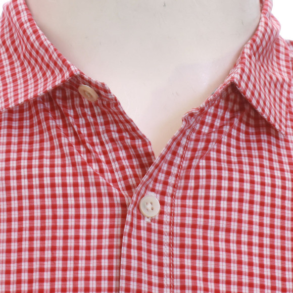 Paul Smith Jeans Mens Red Paul Smith 756K Small Red Check Shirt main image