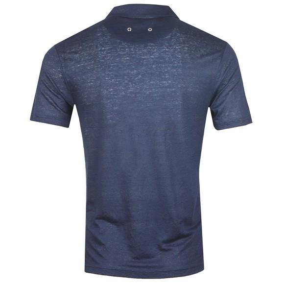 Vilebrequin Mens Blue Pyramid Polo Shirt main image