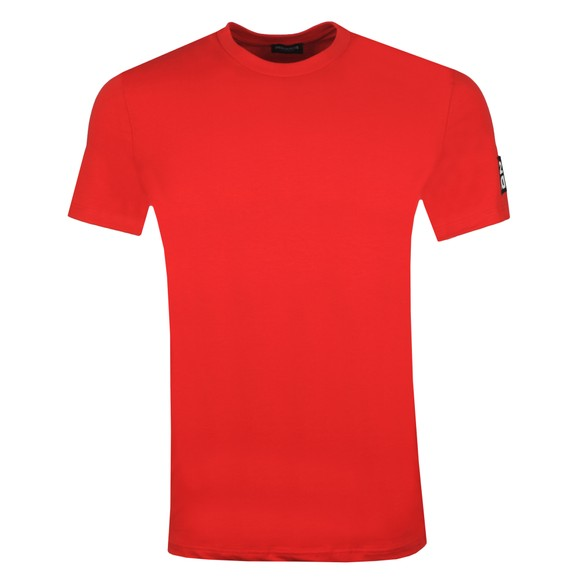 Dsquared2 Mens Red D2D2 Arm T-Shirt