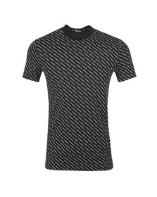 Dsquared2 Mens Black Repeated Logo T Shirt