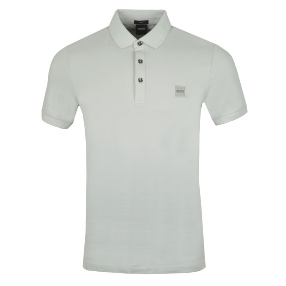 BOSS Mens Silver Casual Passenger Polo Shirt