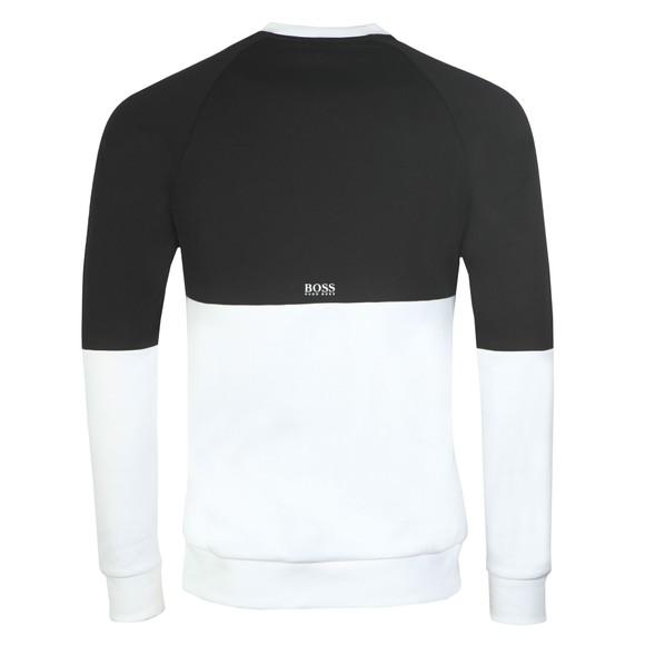 BOSS Mens Black Athleisure Salbo Iconic Sweatshirt main image