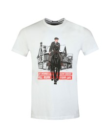 Weekend Offender Mens White Thomas T Shirt