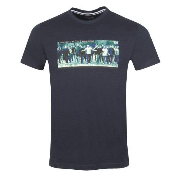 Weekend Offender Mens Blue Green Street T Shirt
