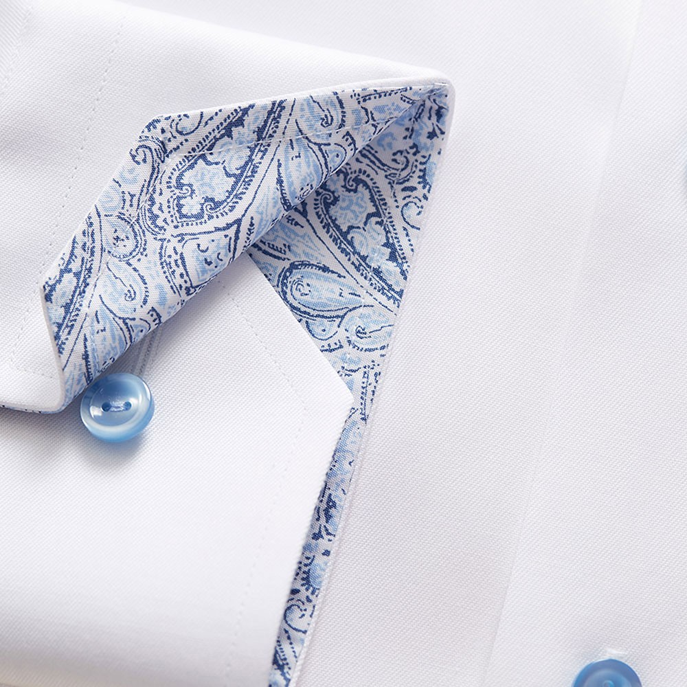 Antique Paisley Poplin Shirt main image
