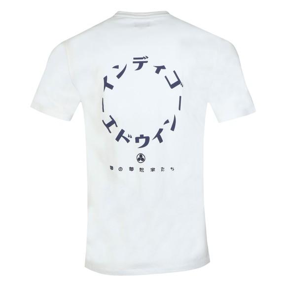 Edwin Mens White Dreamers T-Shirt main image