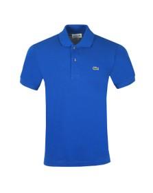 Lacoste Mens Blue L1212 Plain Polo Shirt