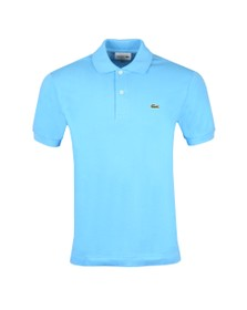 Lacoste Mens Blue L1212 Plain Polo Shirt