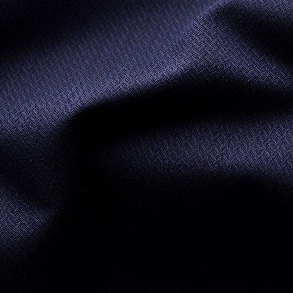 Eton Mens Blue Self Pattern Shirt main image