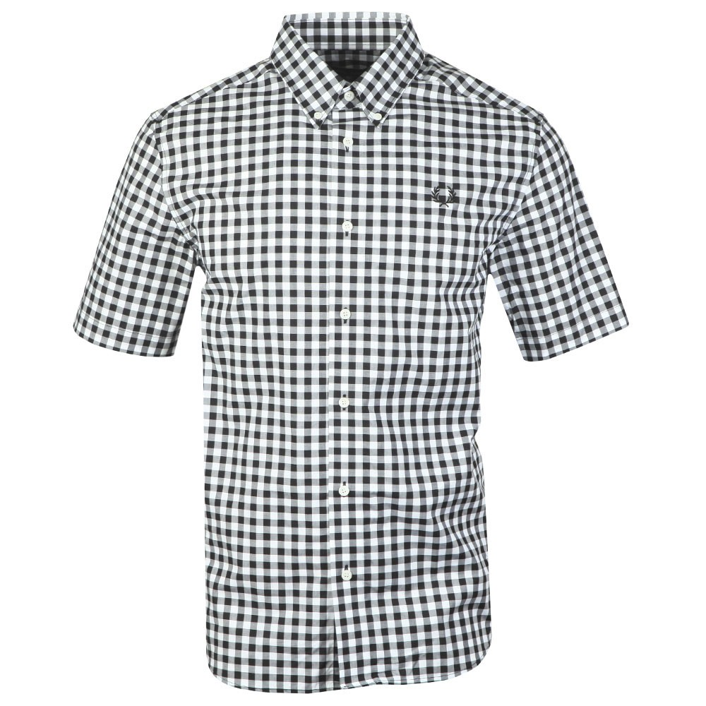 S/S 2 Colour Gingham Shirt main image