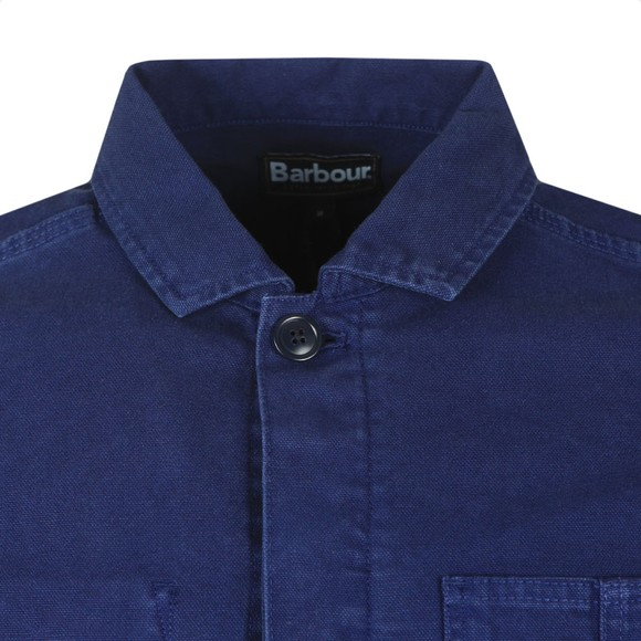 Barbour Lifestyle Mens Blue Duncansea Overshirt