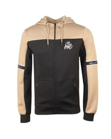 Kings Will Dream Mens Black Vesy Marl Zip Poly Hoodie