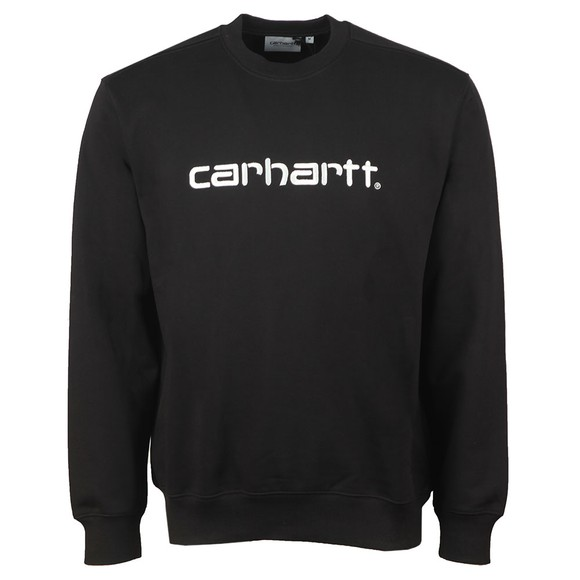 Carhartt WIP Mens Black Sweatshirt