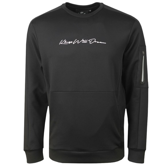 Kings Will Dream Mens Black Avell Crew Sweatshirt
