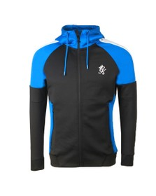 Gym King Mens Black Aki Poly Track Top