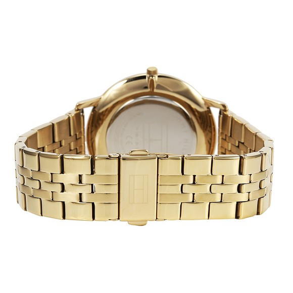 Tommy Hilfiger Mens Gold 1791513 Watch main image
