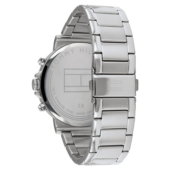 Tommy Hilfiger Mens Silver 1791226 Watch main image