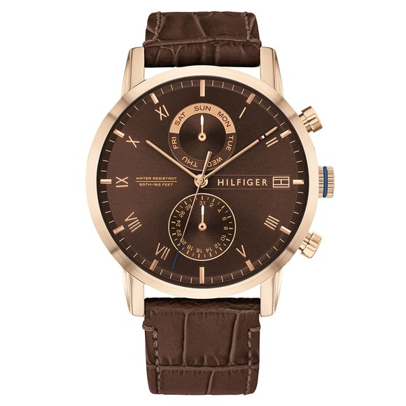 Tommy Hilfiger Mens Brown 1710400 Watch
