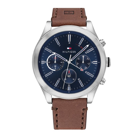 Tommy Hilfiger Mens Brown Ashton Watch main image