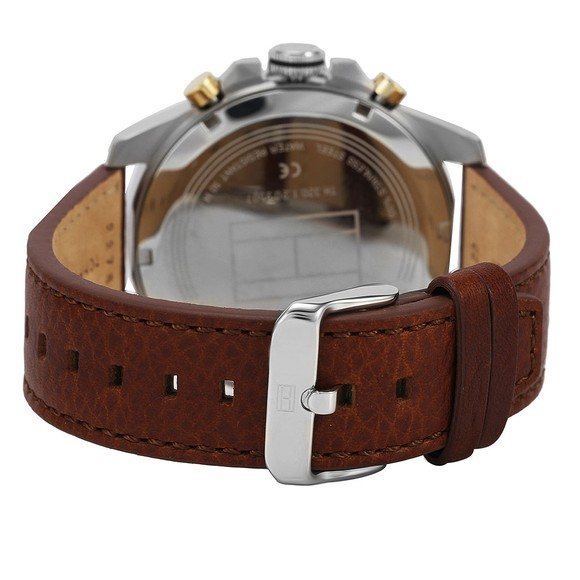 Tommy Hilfiger Mens Brown 1791561 Watch main image