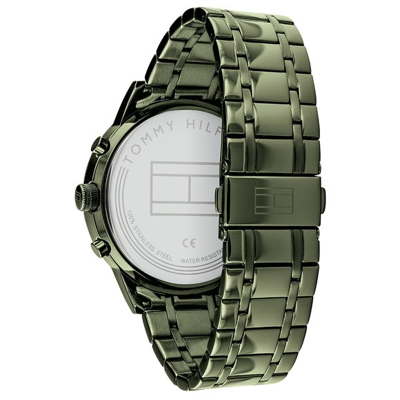 Tommy Hilfiger Mens Green 1791634 Watch main image