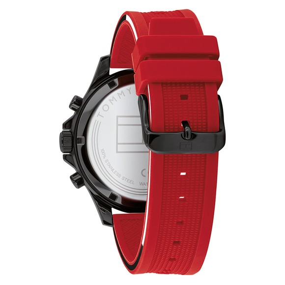 Tommy Hilfiger Mens Red Bank Watch