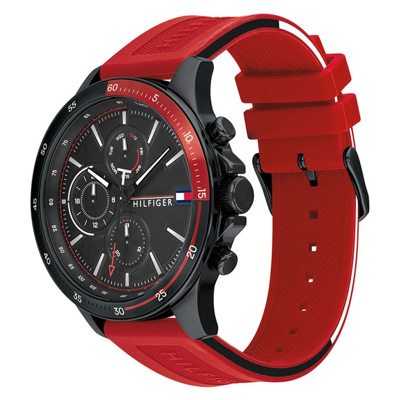 Tommy Hilfiger Mens Red Bank Watch main image