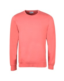 Colorful Standard Mens Pink Oraginc Crew Sweat