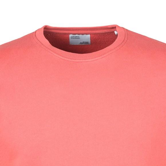 Colorful Standard Mens Orange Organic Crew Sweatshirt main image