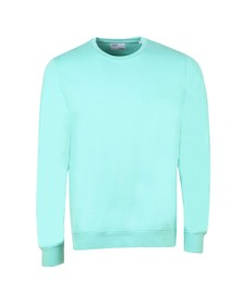 Colorful Standard Mens Green Oraginc Crew Sweat