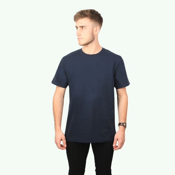 Colorful Standard Mens Blue Organic T-Shirt