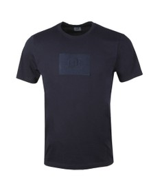 C.P. Company Mens Blue Box Patch T-Shirt