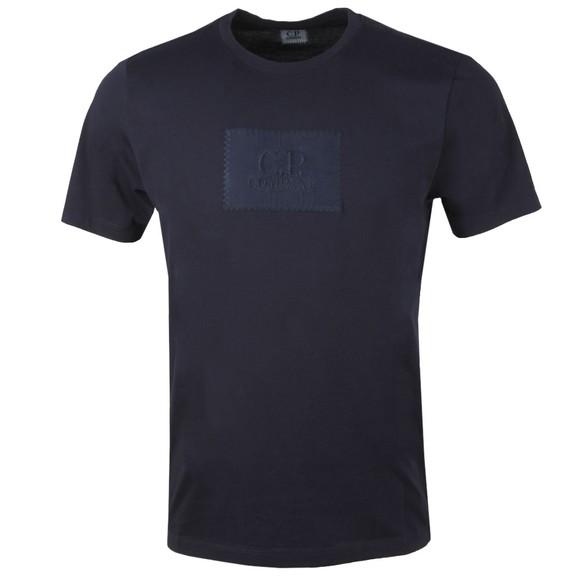 C.P. Company Mens Blue Box Patch T-Shirt