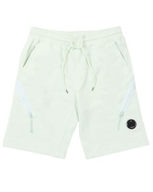 C.P. Company Mens Green Bermuda Sweat Short