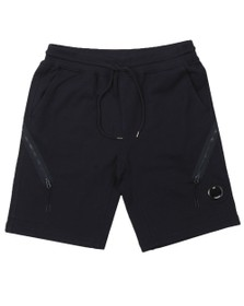 C.P. Company Mens Blue Bermuda Sweat Short